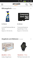 Screenshot of Amazon DE