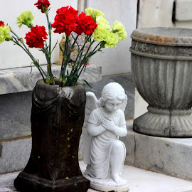 by Christie Henderson - Novices Only Objects & Still Life ( new orleans cemeterry )