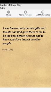 Quotes of Bryan Clay - screenshot