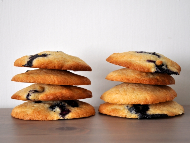 Best Blueberry Cookies