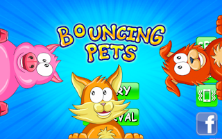 Screenshot of Bouncing Pets