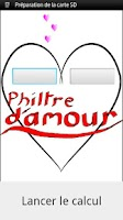 Screenshot of Philtre d'amour (love test)