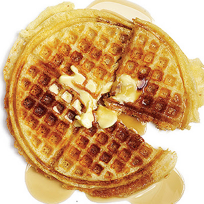 Yeasted Brown-Butter Waffles