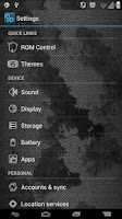 Screenshot of GrungedMetal ICS Theme Full