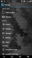 Screenshot of GrungedMetal ICS Theme Full