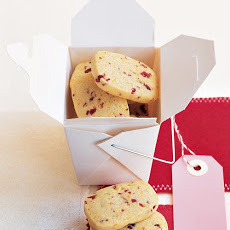 Cornmeal-Cherry Cookies