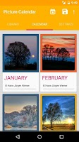 Screenshot of Picture Calendar 2014 / 2015