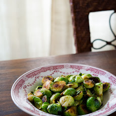 Pan Roasted Brussels Sprouts with Fish Sauce