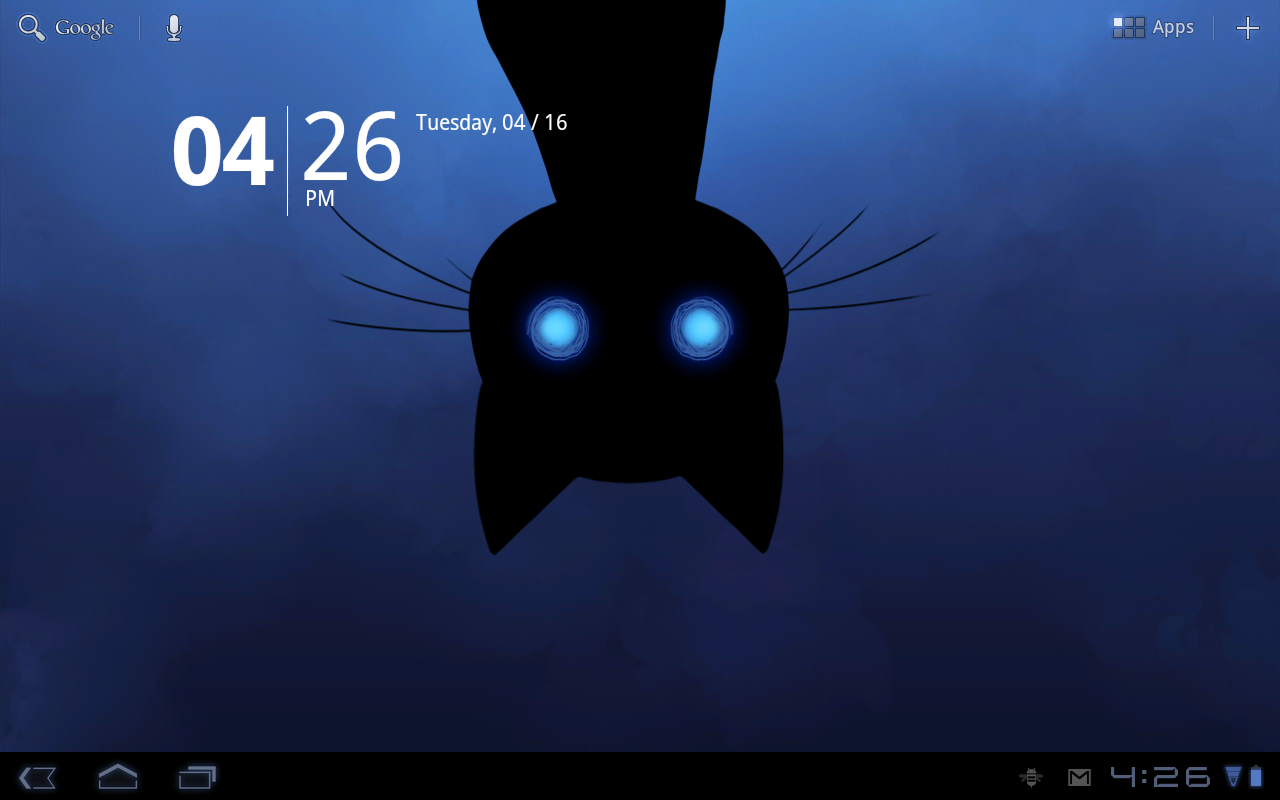 Stalker Cat Live Wallpaper Lt Screenshot 3