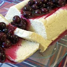 Ricotta Baked With Glazed Berries