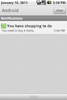 Screenshot of You've got shopping