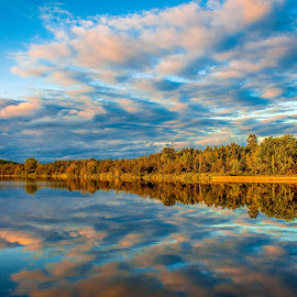 Reflection. by Tim Morris - Landscapes Waterscapes ( quinte, frankford, quinte west,  )