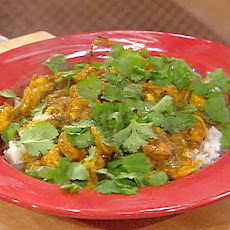 Hot and Spicy Curried Shrimp