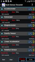 Screenshot of Sensor Kinetics Pro