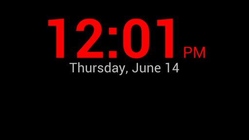 Night Clock for Desk FREE