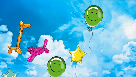 Pop balloons: children's games - screenshot