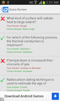 Screenshot of Science Quiz