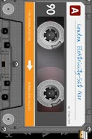 Screenshot of Retro Tape Deck mp3 player