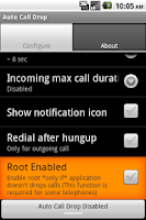 Screenshot of Auto Call Drop
