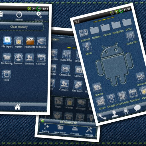 Denim GO Launcher Theme