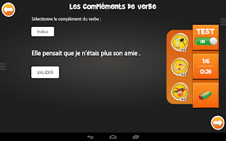Screenshot of iTooch Français CM2
