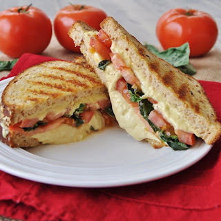 Grilled Cheese Basil And Tomato Sandwiches Recipes