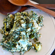 SPINACH, KALE STUFFING(not just for Thanksgiving!)