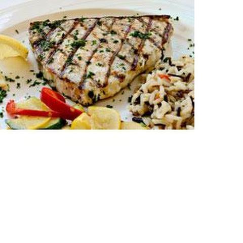 Grilled Swordfish Lemon Butter Recipes | Yummly