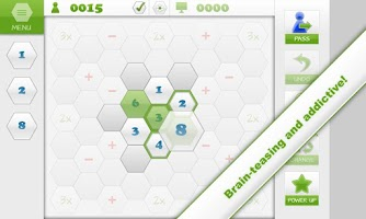 Screenshot of Mathagon