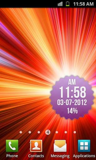 【免費工具App】徽章時鐘小工具-APP點子