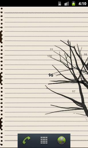 数字のなる木