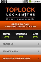 Screenshot of Melbourne Locksmiths