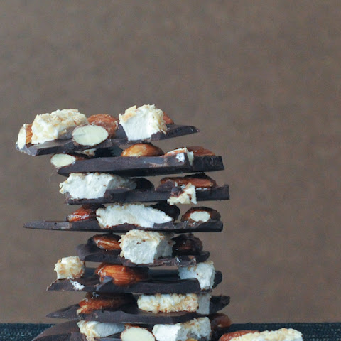 Caramelized Almond Rocky Road Bark