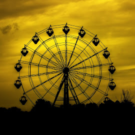 Keep Roll'in by Fahim Murshed - City,  Street & Park  Amusement Parks ( wheel, park, amusement, afternoon, city )