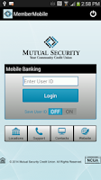 Screenshot of MSCU MemberMobile