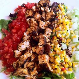 Super Salad with Grilled Chicken