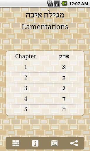 Eichah Lamentations