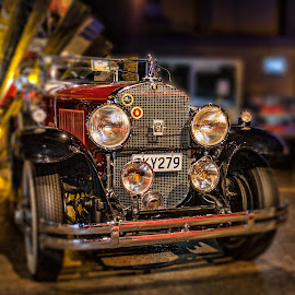 Classic car by Vibeke Friis - Transportation Automobiles ( claasic, antique cars,  )