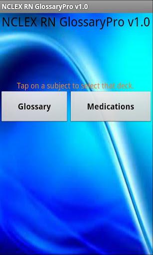 NCLEX RN Glossary Pro