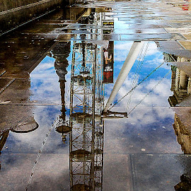 After the Rain by Adeline Tan - City,  Street & Park  Street Scenes (  )