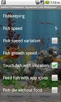 Screenshot of aniPet Freshwater Live WP