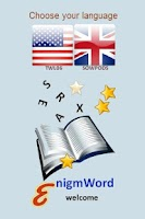 Screenshot of enigmWord English