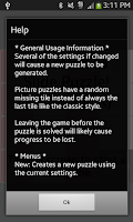 Screenshot of Slide Puzzle (with a twist)