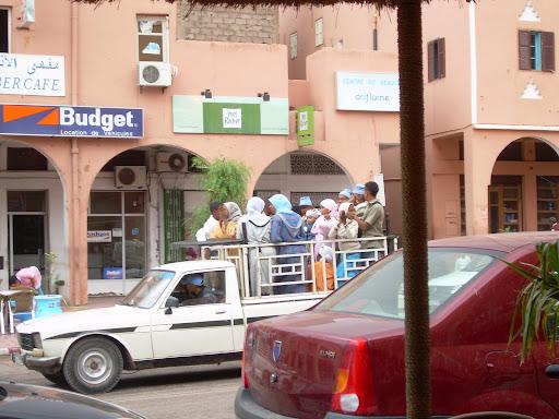 Marokański transport działa dobrze