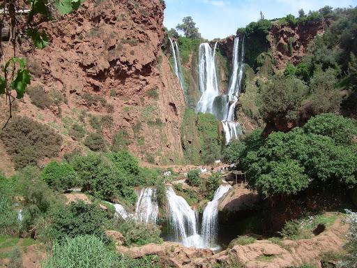Kaskady - niezgorsza część Maroka