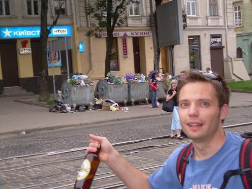 Lubi i alkohol i śmieci