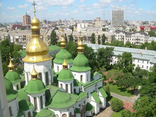Wersja zielona - cerkiew św. Zofii