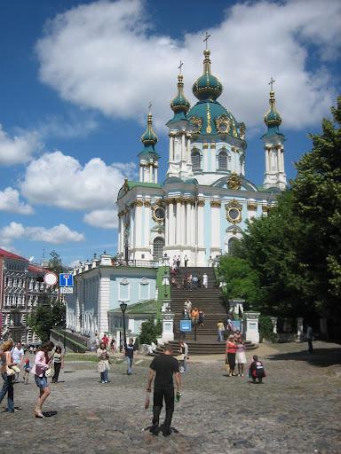 Cerkiew św. Andrzeja - Kijów