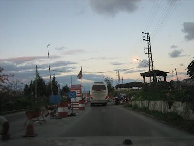 Wzmożone czekpointy - południowa granica