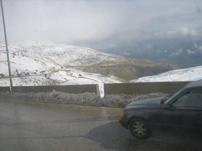 Przełęcz między Bejrutem i Damaszkiem